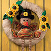 Mr. Turkey Wreath
