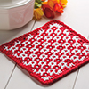 Woven-Look Hot Pad