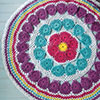 Color Wheel Table Mat