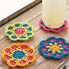 Pretty Posies Coasters