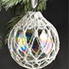 Lace Snowball Ornament
