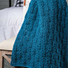 Easy Basket-Weave Throw