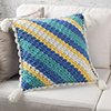 Striped C-2-C Pillow
