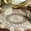 Tulip Time Doily